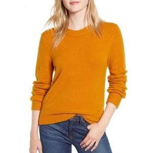 J. Crew Heather Warm Caramel Soft Yarn Sweater